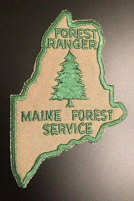 Maine Forest Service Forest Ranger DNR Game Warden ME Police Patch