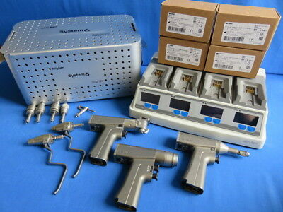 Stryker System 6 Set with 4 New Batteries, Charger & Case **90 day Warranty**