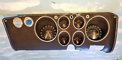 1965 66 67 68 69 Corvair Corsa Monza  OEM Tach and Gauge dash cluster No Reserve