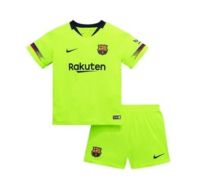 football kids kit barcelona away 2018-2019 brand new with tags fast delivery