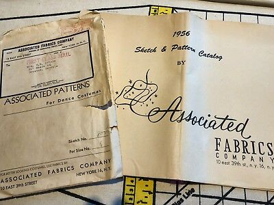 Vintage March 1956 ASSOCIATED PATTERN CATALOG Sewing Patterns Costumes & Pattern