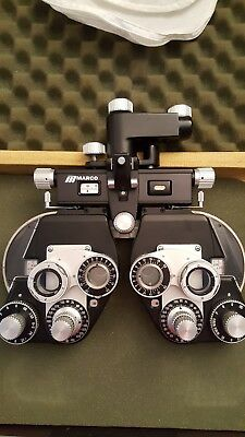 Refractor Phoropter Optometry Plus Cylinder Ophthalmology Refracter