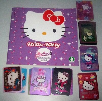 Alle 150 Hello Kitty Pearlcards + Album