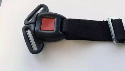 GRACO Safety 1st Cosco CAR SEAT Replacement BUCKLE Black 2017 Safer Design! NEW!