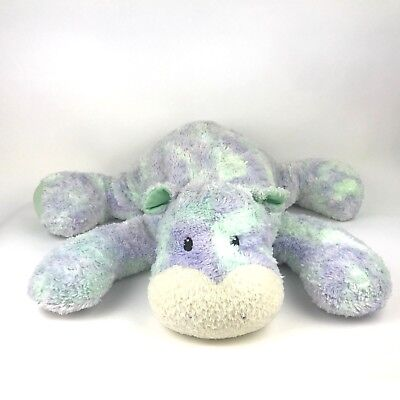 Baby Gund Sprinkles Hippo Plush Purple Green Stuffed Animal 24