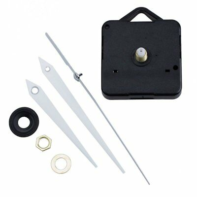Quartz Clock Movement Mechanism DIY Repair Parts + White Hands F2Y6