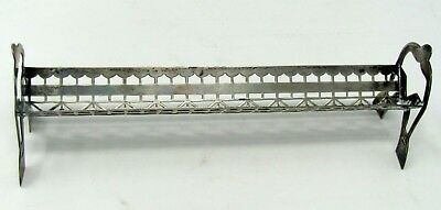 Vintage Whs Co Sterling Silver Reticulated   Sugar Cube Holder Tray