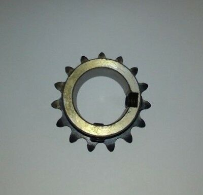 "15 Tooth, 35 Pitch, 1"" Bore Roller Chain Sprocket (35BS15H-1"")"