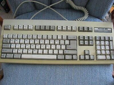 VTG Packard Bell Clicking Keyboard PS-2 Connection Model 5339SX Not Tested