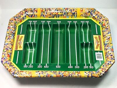 Old El Paso Plastic Football Stadium Party Serving Tray Taco Nacho Chips Dip