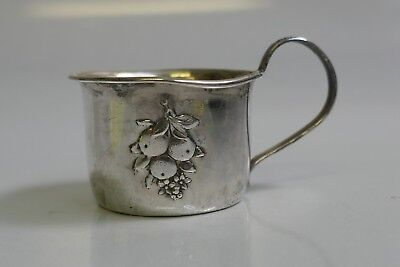 Vintage Webster Sterling Silver Child's Cup - Model Number 22541