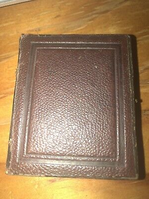 Antique Ambrotype Little Photograph vintage Full case