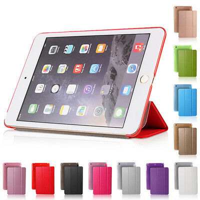 Flip Ultra Thin PU Leather Smart Cover Stand Case Sleep Wake for iPad mini1 2 3