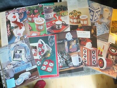 Christmas / Xmas / Winter Sets, Table, Toppers, Coasters Snowman, Angel in PC