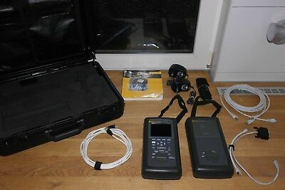 Fluke Networks DSP-2000 Cable Analyzer w/ Smart Remote CAT5 LAN Tester / network