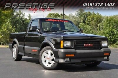 1991 GMC Sonoma  1991 Gmc  Syclone Turbo Charged V-6   1 Owner  9,000 Miles 100% Stock