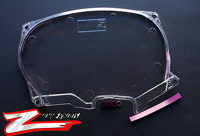 Clear Timing Belt Cover Pulley For Mitsubishi Lancer Evolution EVO4-8 4G63
