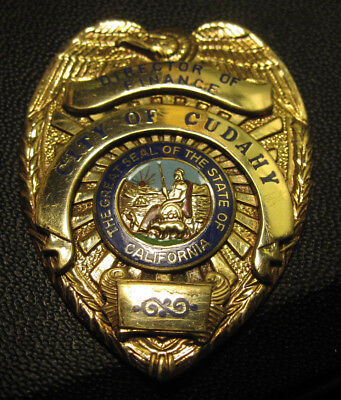 1957 Badge Entenmann-Rovin Co. POLICE FIRE FEDERAL SECURITY DIRECTOR FINANCE