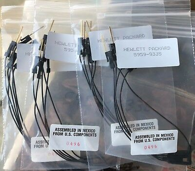 5959-9335 HP/Agilent Replacement Pod Ground (4) Pkgs of 5 NEW (20) Pieces Total