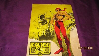Golden Age Collector #3 1974 The Firebrand The Green Lama Fighting Yank Reprints