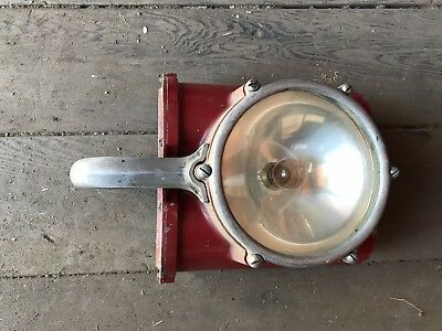 Antique Fire Truck Flashlight American Lafrance