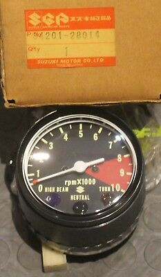 NOS Suzuki TS125 TC125 TS185 Tachometer Assembly #34201-28014 NEW BIN H