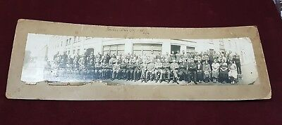 Panoramic Photograph Photo Members Of Hawkes Bros Pty Ltd 1934 Geelong