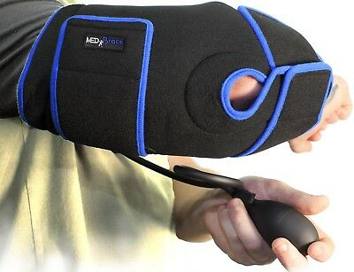Elbow Ice Gel Pack Cryotherapy Injury Cuff MEDiBrace Cold Compression Therapy