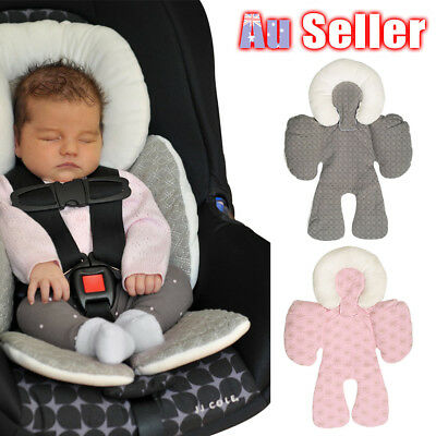 Infant Baby Newborn Car Seat Carrier Stroller Mat Soft Support Holder Head Neck