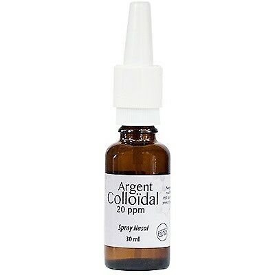 DR THEISS Spray Nasal Argent colloïdal 20ppm - 30ml