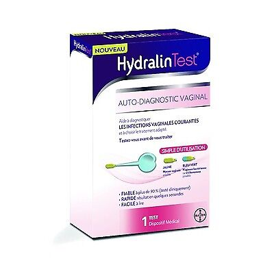 HYDRALIN Test Auto-diagnostic Vaginal Infections vaginales courantes
