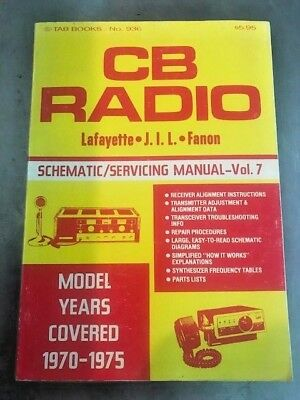 CB Radio Schematic and Service Manual - Tab Books Model Years 1970-1975