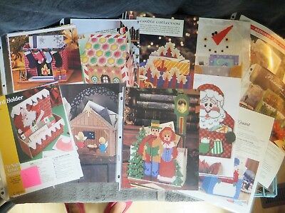 Christmas / Xmas / Winter Centerpieces, Cardholders, Totes, Bags Patterns in PC