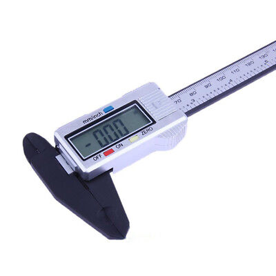 Vernier Caliper Electronic Digital Micrometer Gauge Tool Plastic 150mm LCD Part