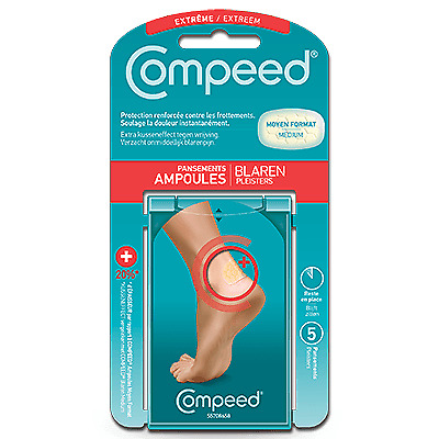 COMPEED Pansement Ampoules Extrême 5 pansements Compeed