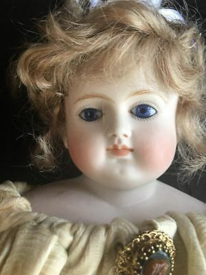Antique french fashion closed mouth unmarked mystery bebe doll ca 1885