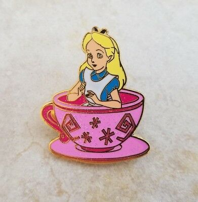 Disney Trading Pins HKDL Alice from Teacup Set Magic Access Alice in Wonderland