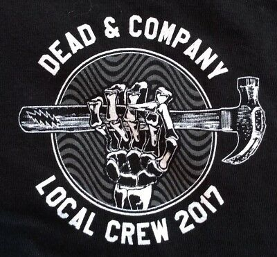 DEAD and Company  2017 Local Crew T-Shirt  Men's XX-Large Dead and Co