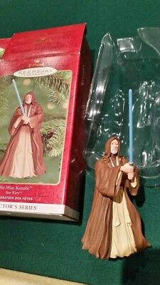 Star Trek & Star Wars Collectible Ornaments - Great Condition