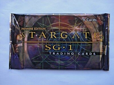 2000 Rittenhouse *stargate Sg-1 Premiere Edition* Sealed Foil Pack