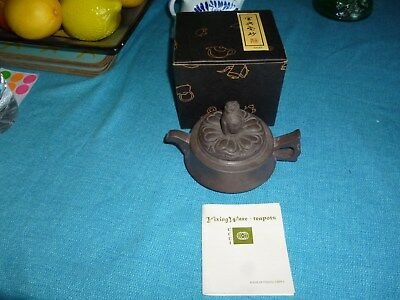 Vintage Yixing Ware Teapot Small