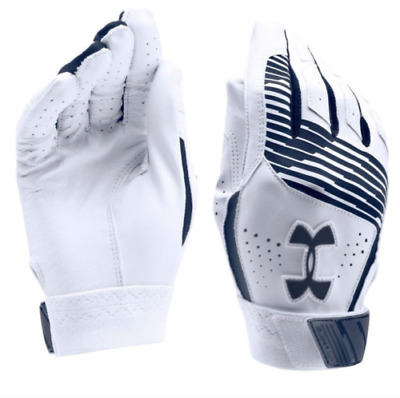 Under Armour UA Clean Up Youth Baseball Batting Gloves YLG Large New