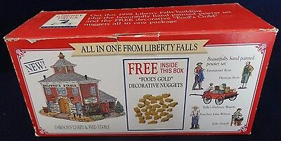 1998 All in One Liberty Falls Dawsons Livery Feed and Stable Decoration Set