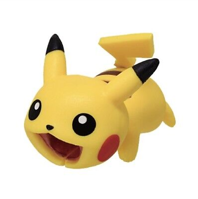 Pokemon Pikachu Cable Bite protector For iPhone Accessory from Japan  F/S