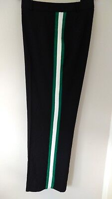 New Black Trousers With Side Strap By Very, Size 18
