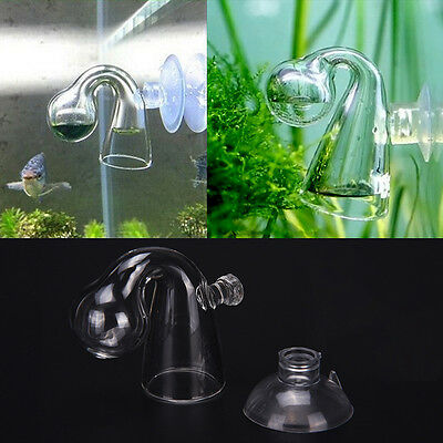 Aquarium Aquatic CO2 Glass Drop Checker Fish Tank Test Long Term Monitor Kit AU