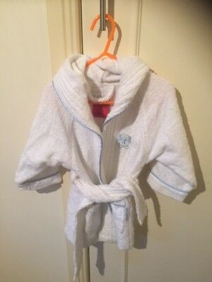 Kids Dressing Gown/Bath Robe - Excellent Condition - Size 1