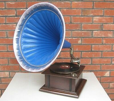 "Genuine original "" Premier "" 1920s Horn Gramophone / Phonograph in working order"