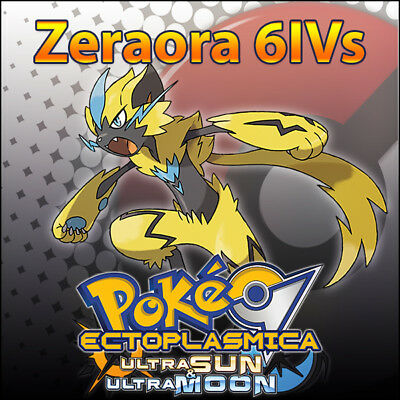 Zeraora 6IV ☀️ Non Shiny 🌙 Battle Ready 6IVs Pokemon Ultra Moon Sun USUM