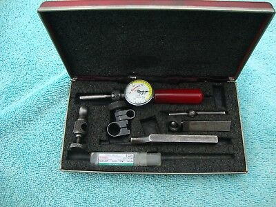 STARRETT LAST WORD DIAL TEST INDICATOR No. 711  WITH CASE, FREE SHIPPING